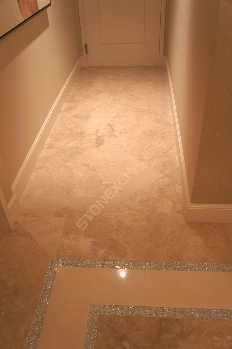 Crema River Marble Tiles Factory Direct Miami Florida