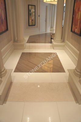 Full Body-Marmo-Glass-Pure-White-Tile-Floor5