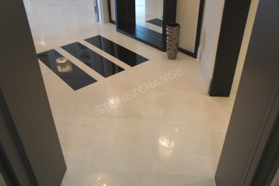 Elegant Marble Tiles For A Luxury Condo Apartment