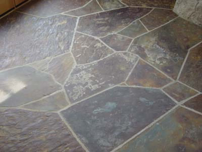 Options For Natural Stone Kitchen And Bathroom Flooring Nalboor
