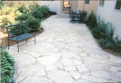 Luxury White Limestone For Outdoor Patios