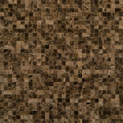 Emperador Dark Mosaic Tiles: A Great Addition Kitchen Backsplash Designs