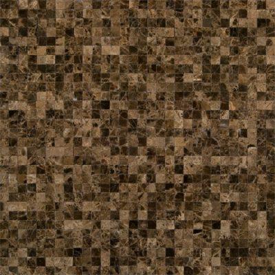 Emperador Dark Mosaic Tiles: A Great Addition Kitchen Backsplash Designs