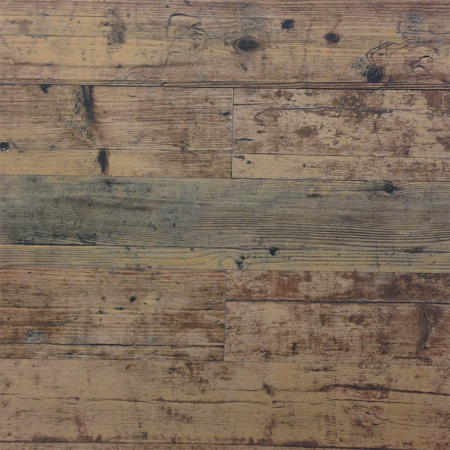 Montreal Maroon Wood Look Plank Porcelain Tile