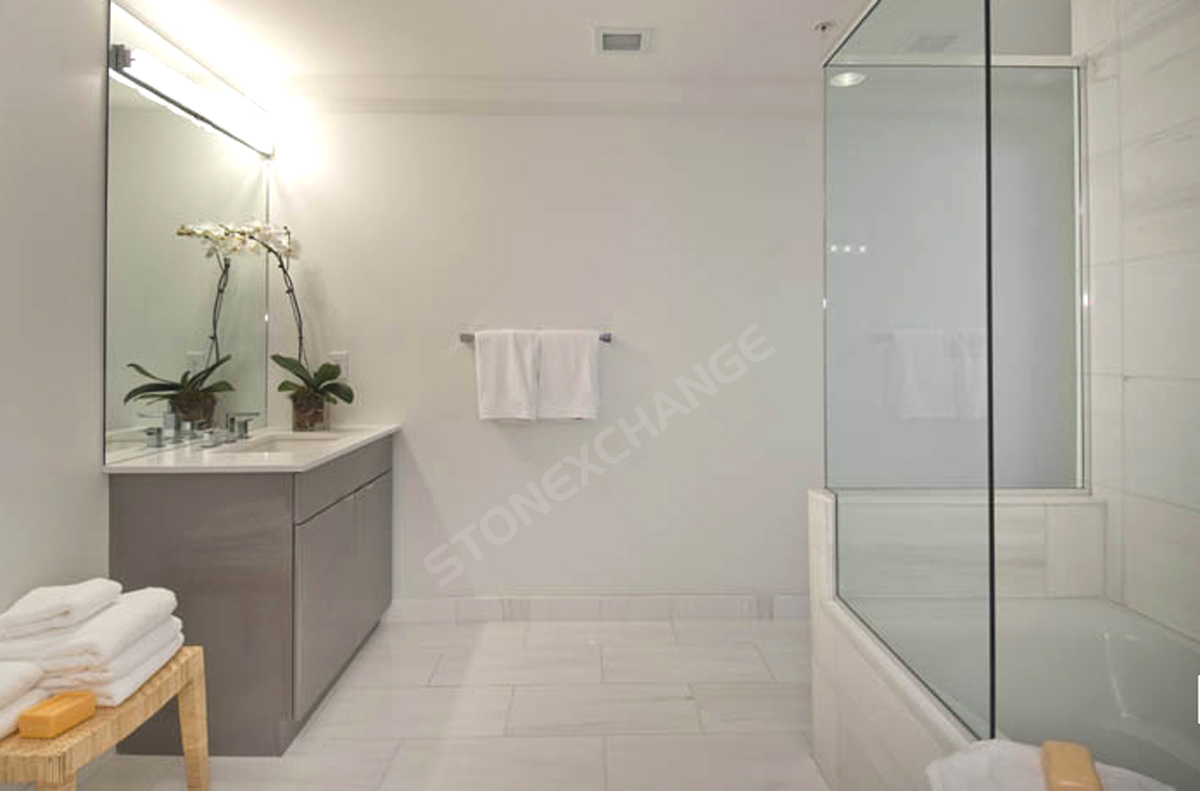 Marble Bathroom Flooring