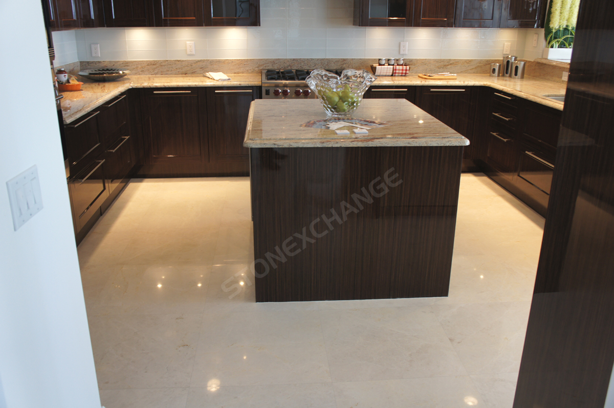 White Marble Kitchen Floor Marble Kitchen Floors Marble Kitchen Floors Floor On Sich