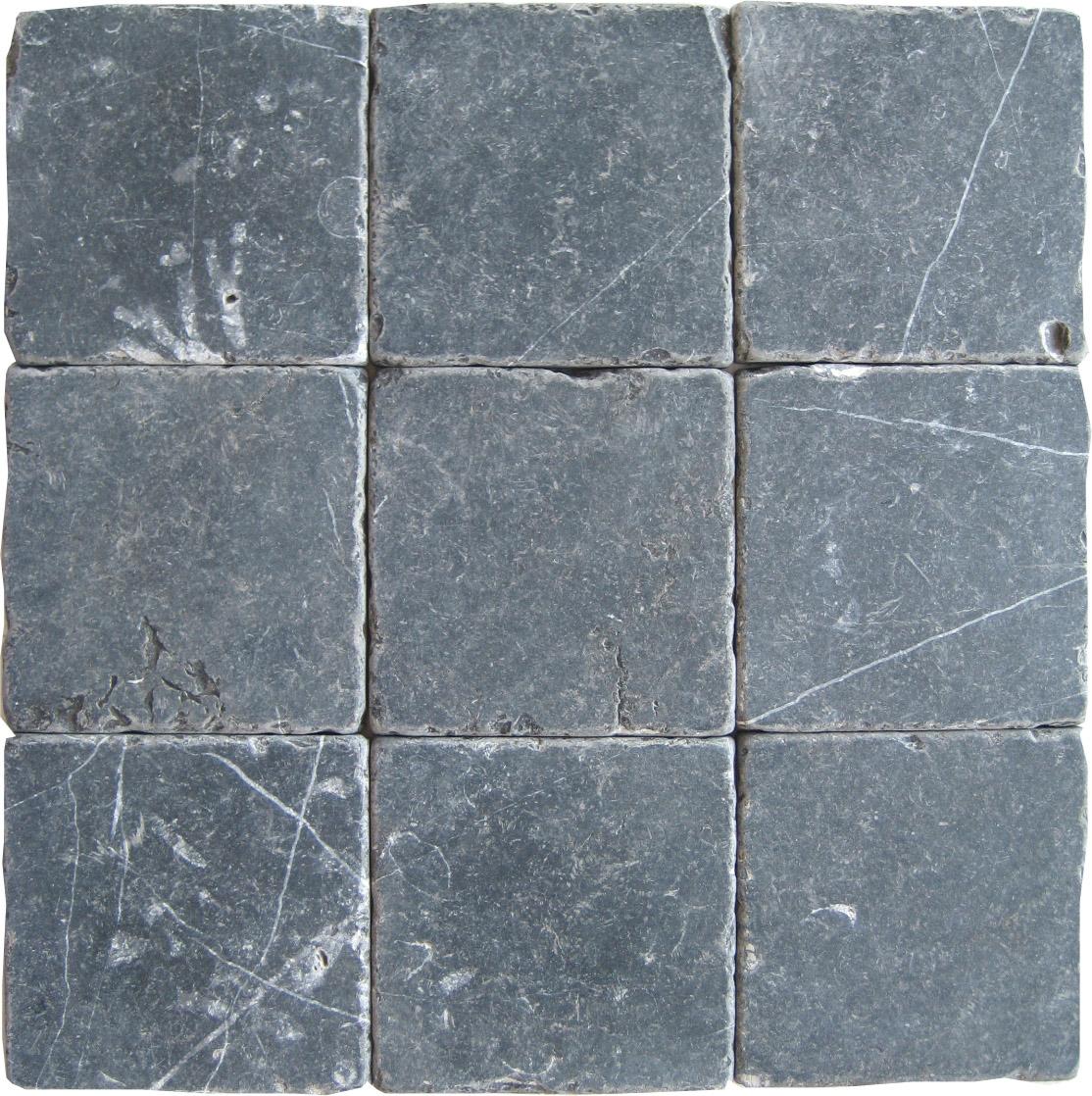 Nero Marquina Tumbled Tiles E4 5900 In South Florida
