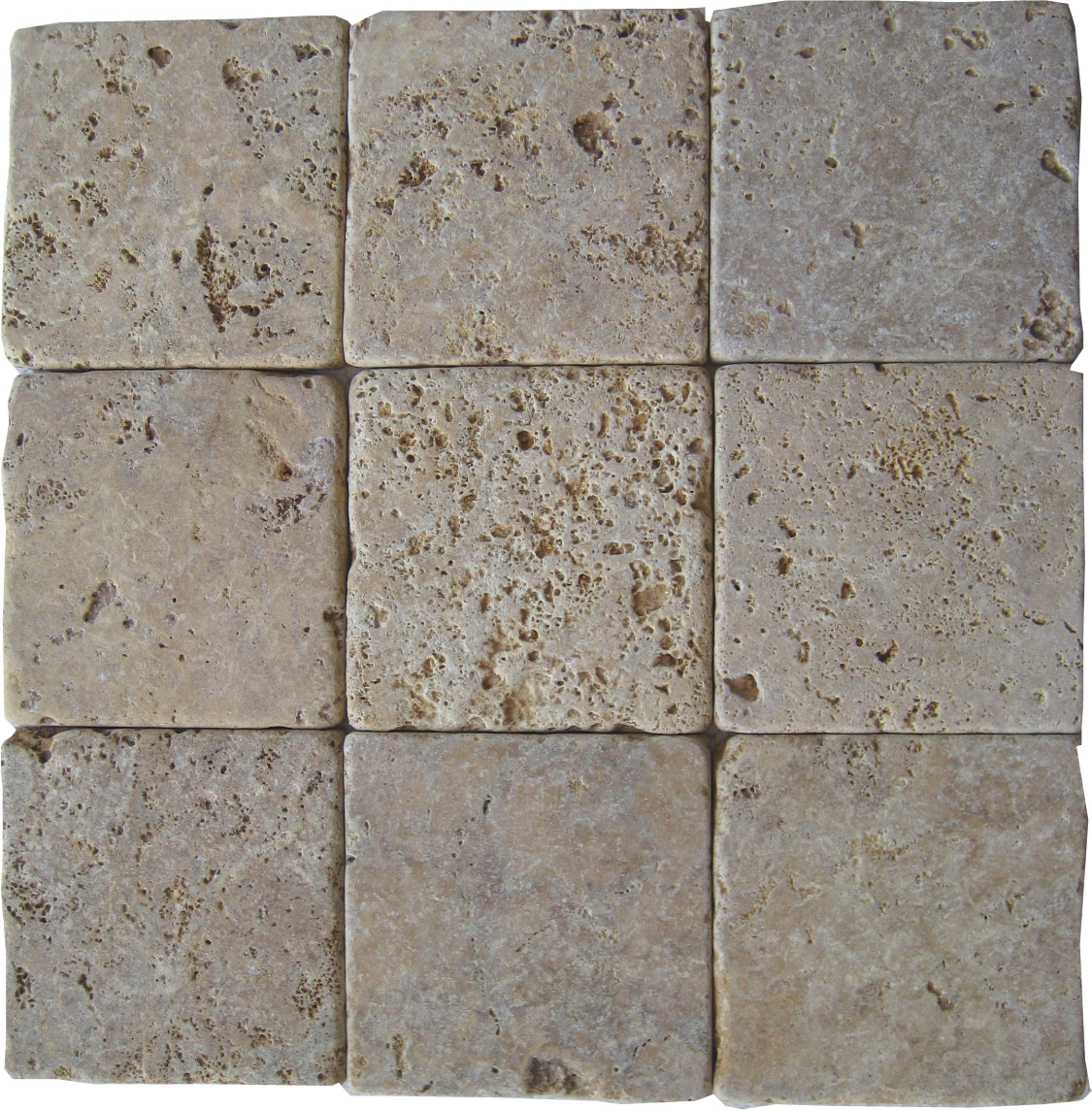 Golden Sienna Travertine Tumbled Tiles E4 3000 In South