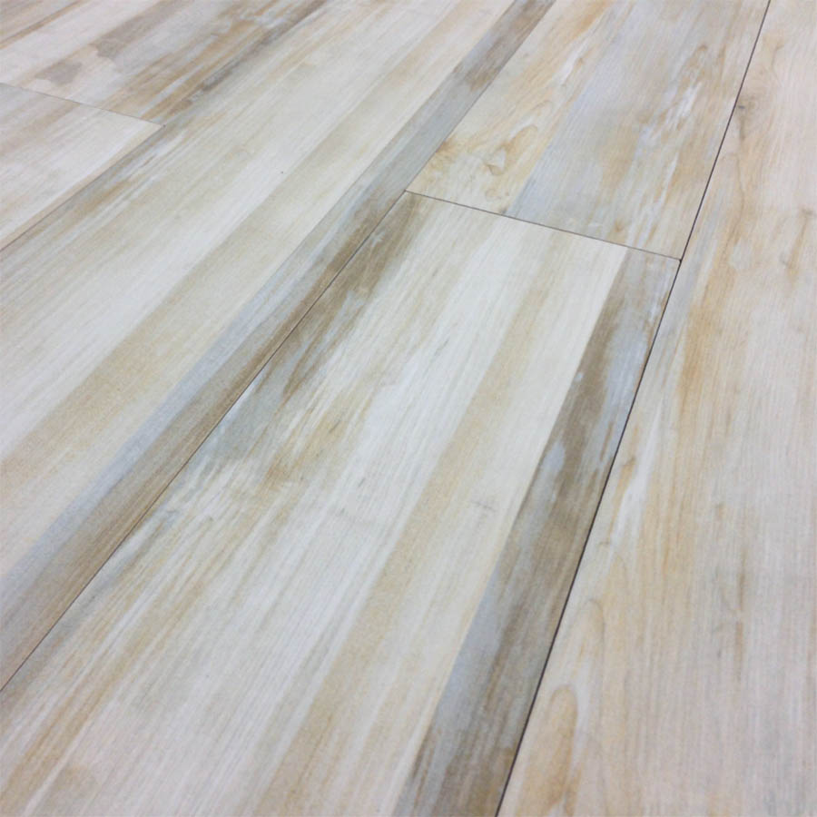 Alberta cream wood look plank porcelain tile for Wooden floor tiles