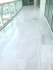 Miami, Brickell Style Décor With Marble Flooring