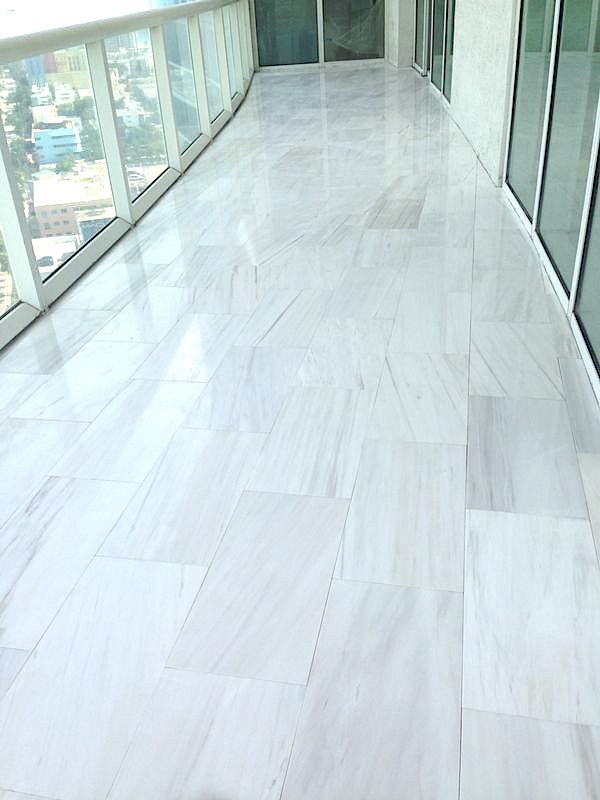 Miami, Brickell Style Décor With Marble Flooring | Nalboor
