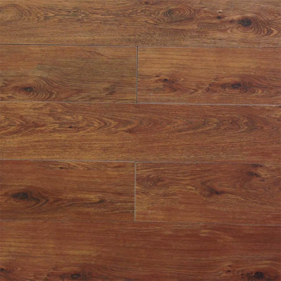 Vancouver Maroon Wood Look Plank Porcelain Tile
