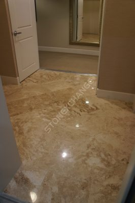 Adalia Cappuccino Polished Marble Tile: The Perfect Neutral Stone