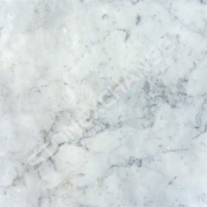Classic Carrara Marble Bathrooms: Bianco White Carrara Marble Tile