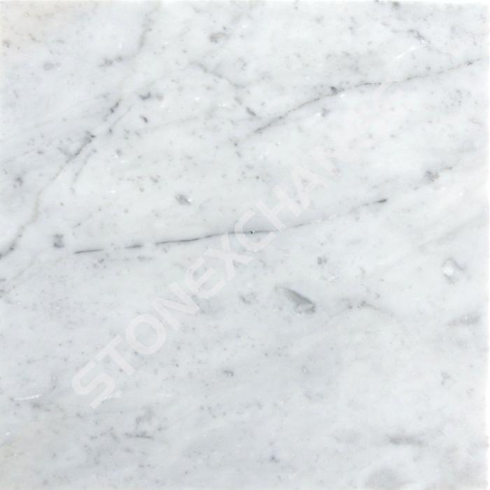 Bianco White Carrara Marble Tile
