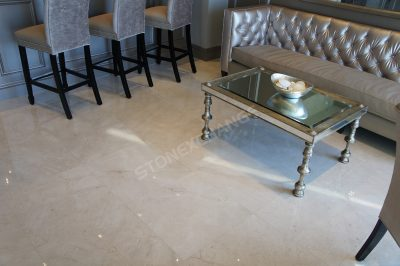 image of cream colored marble flooring