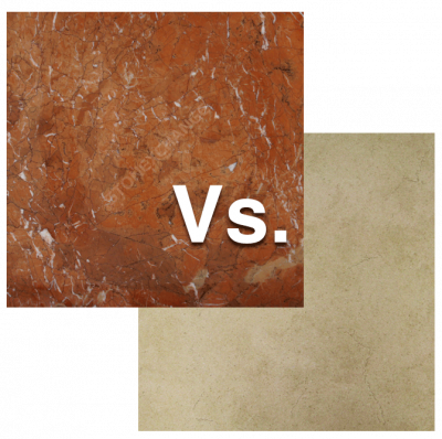 Deciding Between Marble or Porcelain Tile