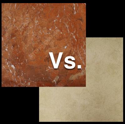 Deciding Between Marble or Porcelain Tile